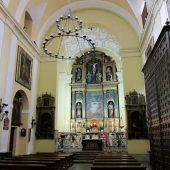 Iglesia Corpus Christi, Las Carboneras, interior