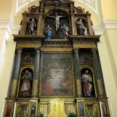 Iglesia Corpus Christi, Las Carboneras, retablo