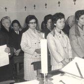 Votos perpetuos Siervas 11-02-1966